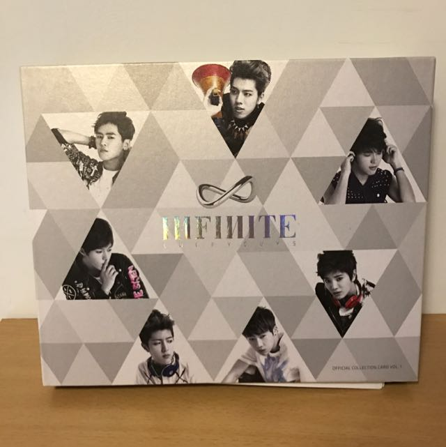 INFINITE`S First Collection Card 一代卡 (韓國進口)