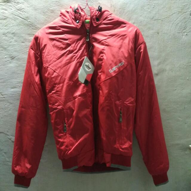 Jaket Dusty Fox (New) Warna Merah (Bisa Bolak Balik)