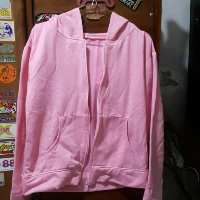 Jaket Pink Lucu