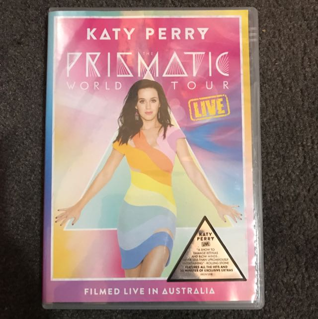Katy Perry Prismatic DVD