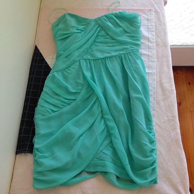 Keepsake The Label Dress In Spearmint Size 8