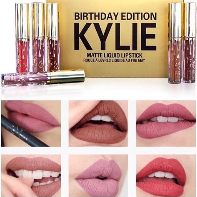 Kylie birthday edition liquid matte