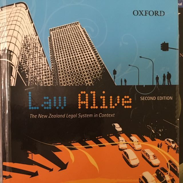 Law alive By Grant Morris