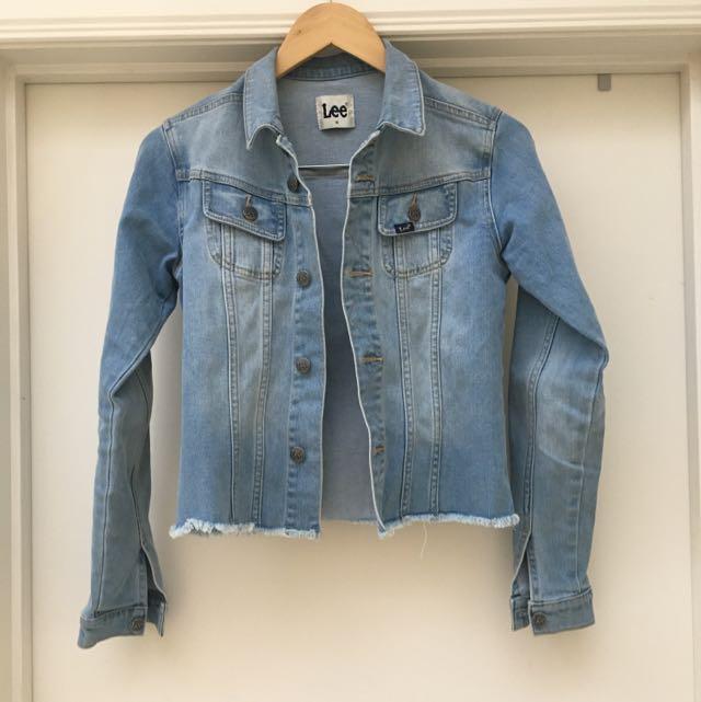Lee Denim Jacket Size 6
