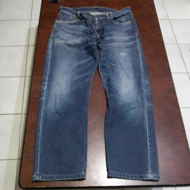 LEVIS 503 深藍牛仔褲