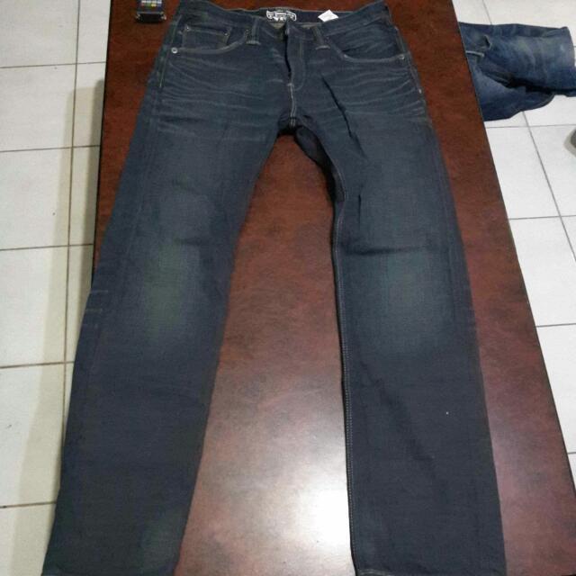 LEVIS 504 深藍牛仔褲
