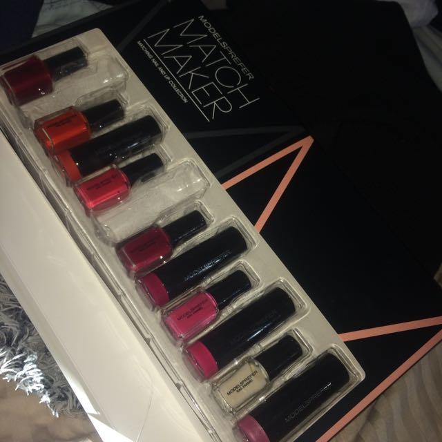 Lipstick And Matching Polish