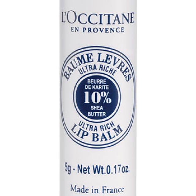 L'occitane 10% Shea Butter Lip Balm