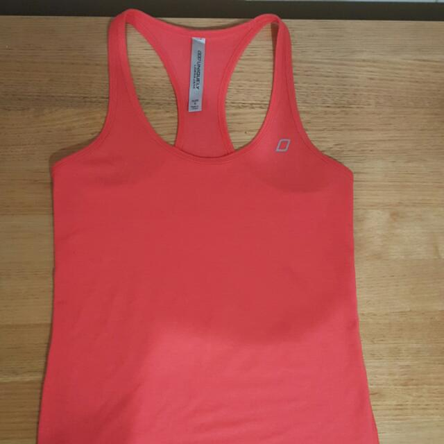 Lorna Jane Sports Top In Red Size Small