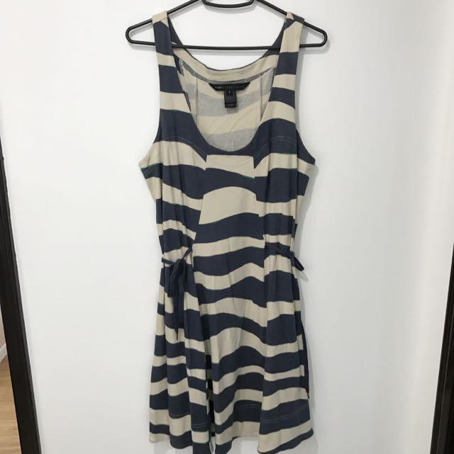 Marc Jacobs White & Blue Dress