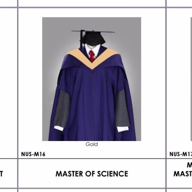 Master of Science Graduate Dress