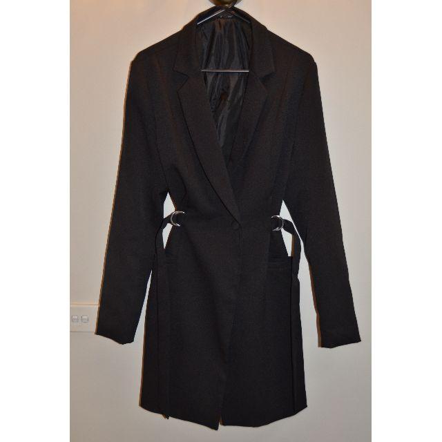 MISSGUIDES Black Blazer Dress