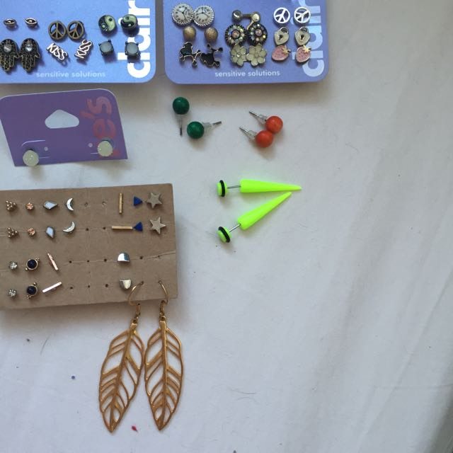 Mix And Match Earings