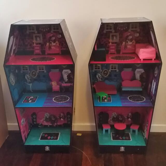 Monster High Doll Houses