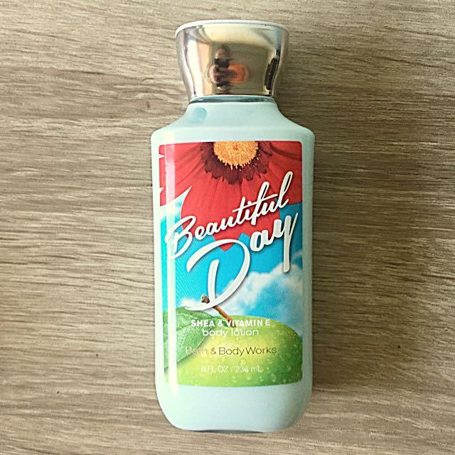 New Bath & Body Body Works Beautiful Day Body Lotion
