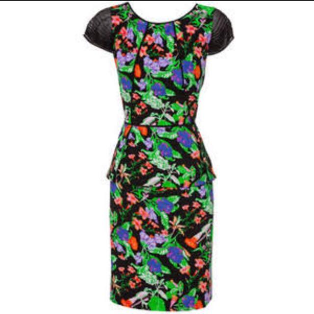 Nicola Finetti Contrast Dress