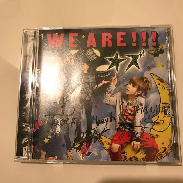 OZ樂團簽名CD