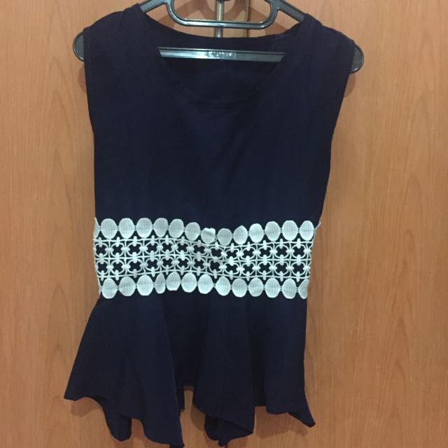 Pelpum Navy Top