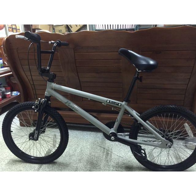 英國PERV 灰色 BMX 特技腳踏車 地板車 單速車 街道車 極限單車 場地車 表演車 特技車