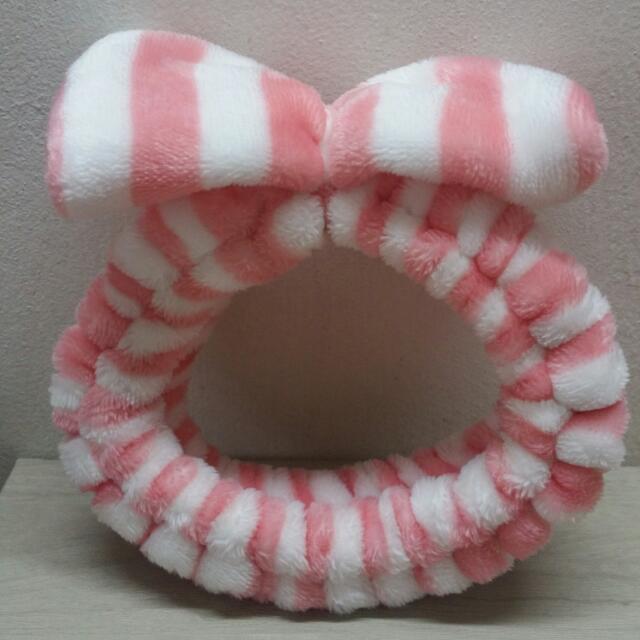 Pink Furry Headband f34475e73e4