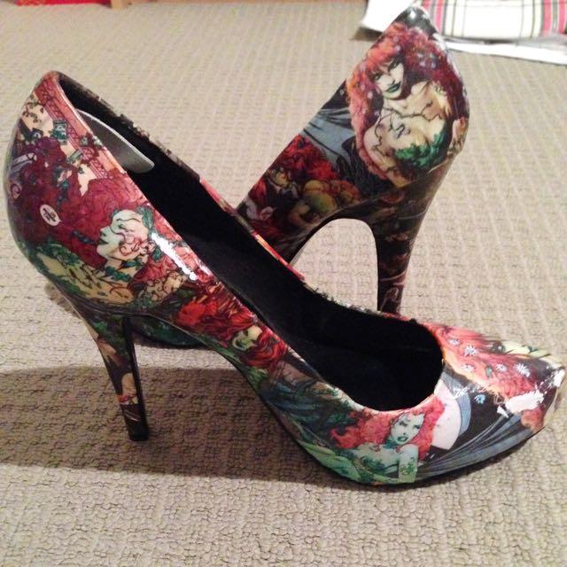 Poison Ivy Heels