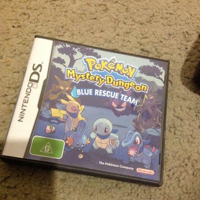 Pokemon Mystery Dungeon Blue