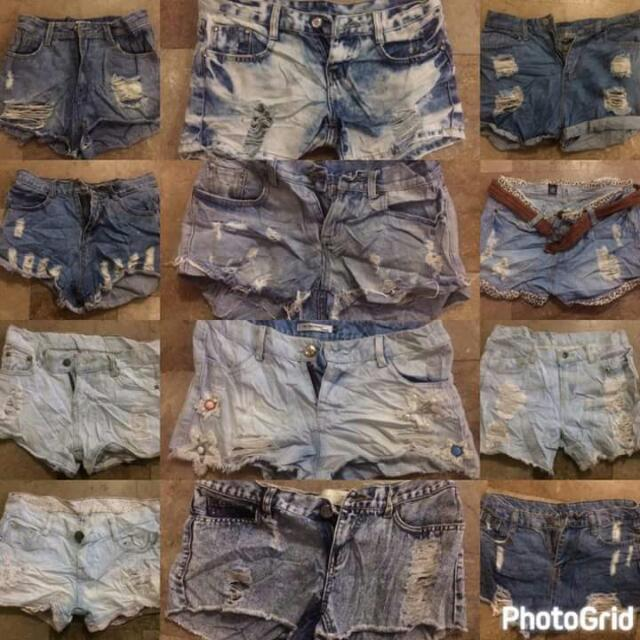 PREPACK DENIM SHORTS