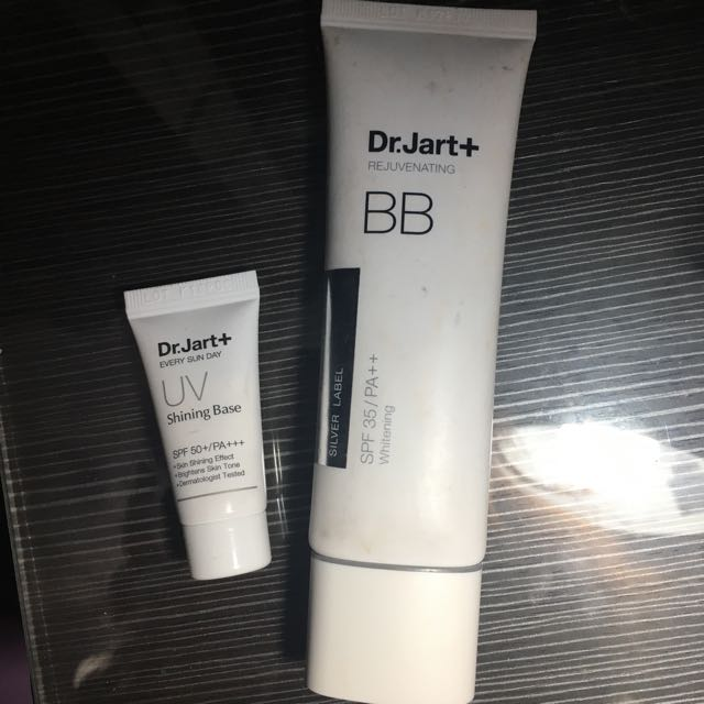 REPRICE DR JART BB CREAM + uv shining base