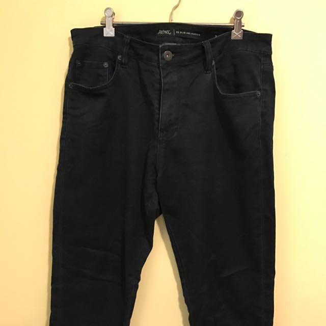 Riders by Lee Slim & Narrow Jeans (Navy, 34)