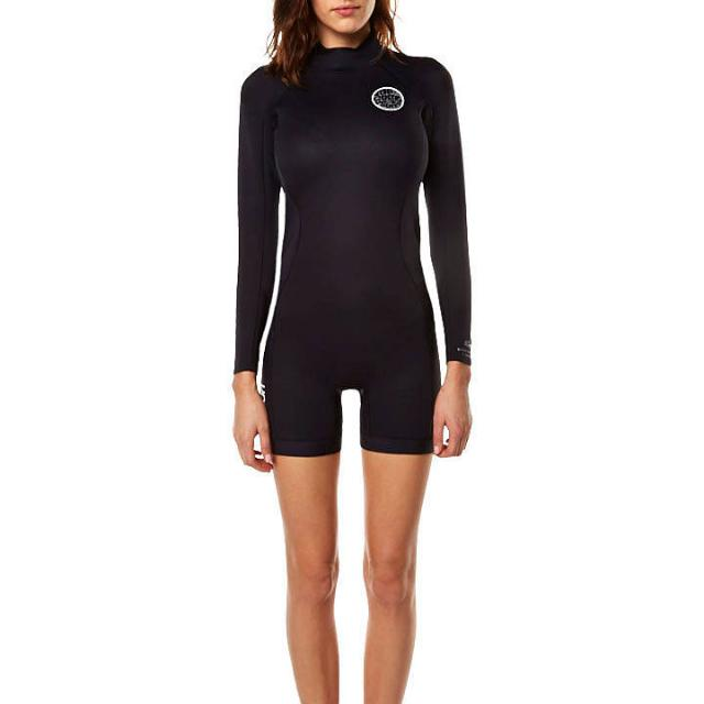 RIP CURL DAWN PATROL LS SPRING SUIT WETSUIT - BLACK Size 6 Small XS-S
