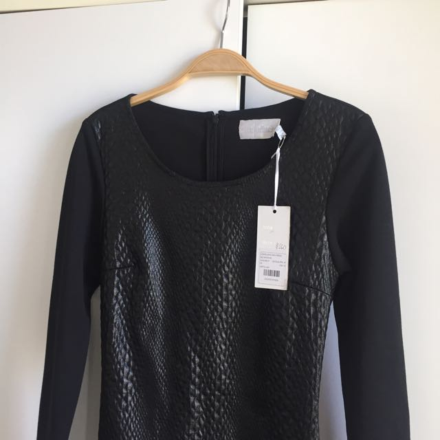 Shakuhachi Longsleeve Midi Dress RRP$260