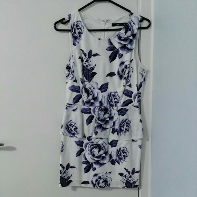 Sportsgirl White Printed Dress