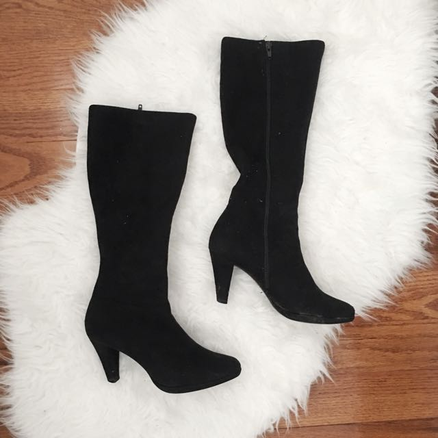 Suede Boots - Size 7.5