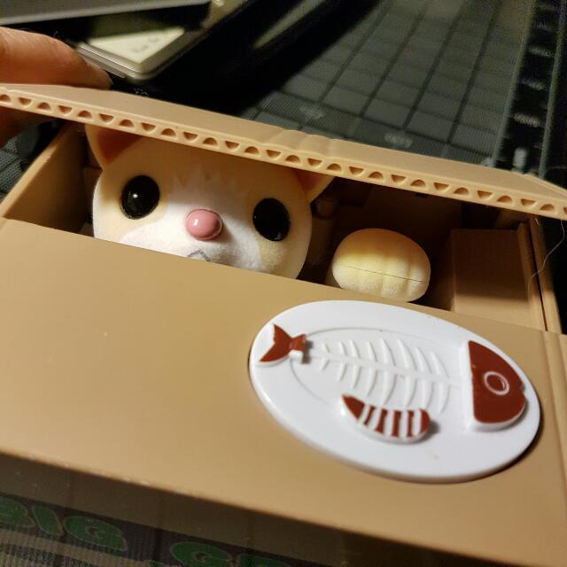 Super Cute Cat Automatic Coin Bank