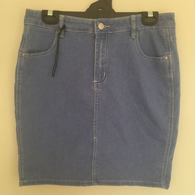 Suprè Denim Skirt Size 14