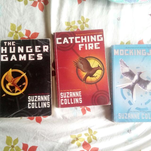 The Hunger Games Trilogy Set
