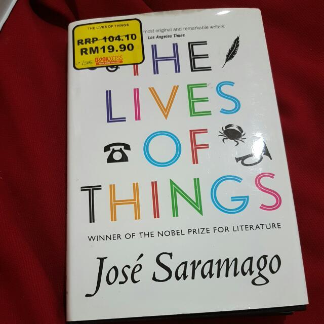 The Lives Of Things - Jose Saramago (English)