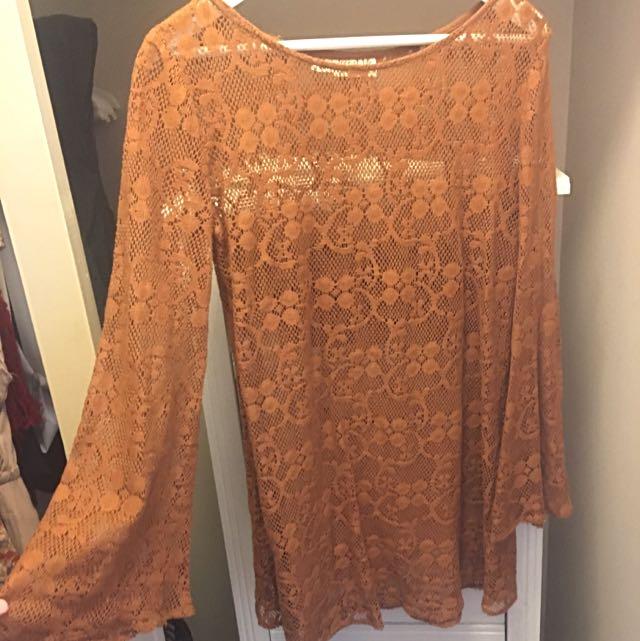 Tree Of Life Crochet Dress