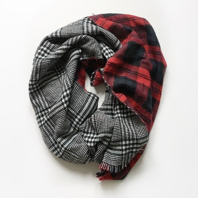 Two Sided Blanket Scarf