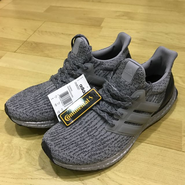 huge discount e5b36 262e6 US8 UltraBOOST Silver Pack BA8143 BNWT, Men's Fashion ...