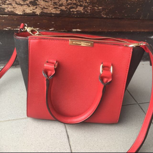 Victoria Beckham Sling Bag Red