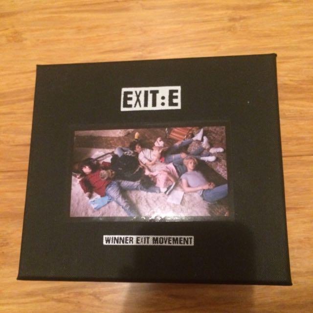 Winner Exit:E Album