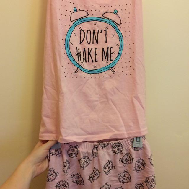 Women's Pajama Set (Size 8/10)