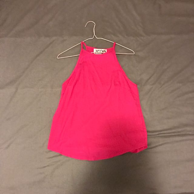 Xenia - Pink Basic Top