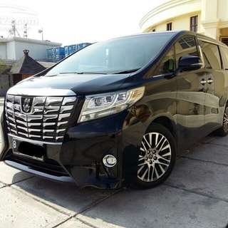LUXURY Airport TRANSFERS And PTP Transfers ( PROFESSIONAL CHAUFFEURS )   @S$35  Brand NEW Toyota Alphard 2.5L