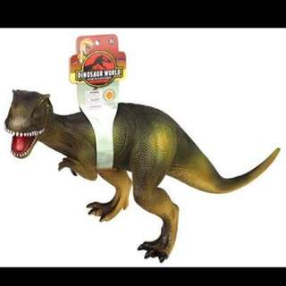 RUBBERIZED DINOSAUR WITH SOUNDS