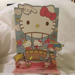 Hello Kitty with friend