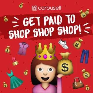 Get paid to SHOP SHOP SHOP! 💁