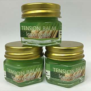 Promo: Lemongrass Spa Balm - relief muscle pain, fight Dengue