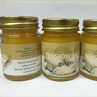 Buy 2 FREE 1 : Plai ( Ginger ) Massage Balm - ease muscle pain, Zika, dengue